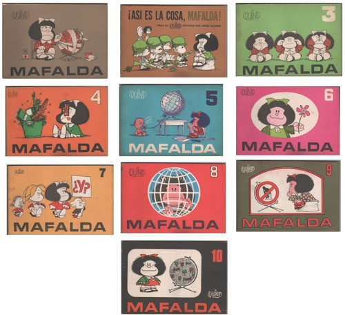 mafalda - colección completa única 10 libros + 2 regalos pdf