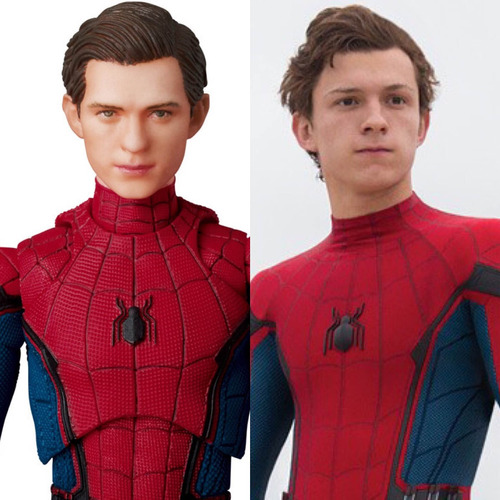 mafex spider-man homecoming ver jp no legends funko marvel !