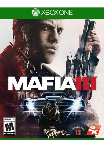 mafia 3 iii fisico   xbox one juego impecable