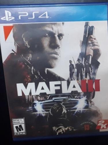 mafia 3 para play 4 fisico
