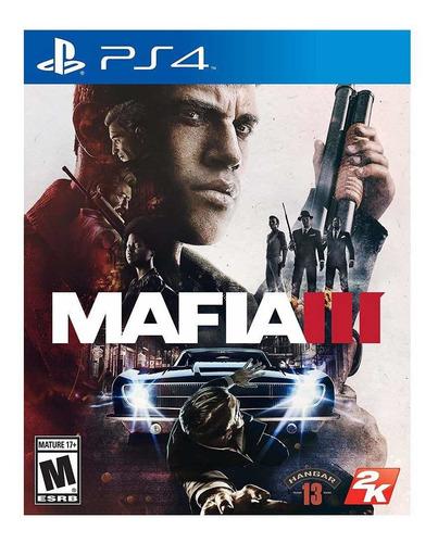 mafia 3 ps4 físico - usado