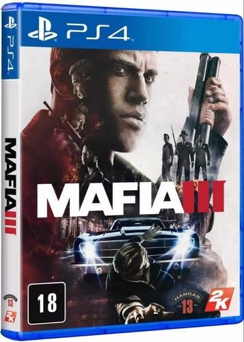 mafia 3 ps4 ( sellado ) envíos grátis y rápido a todo chile