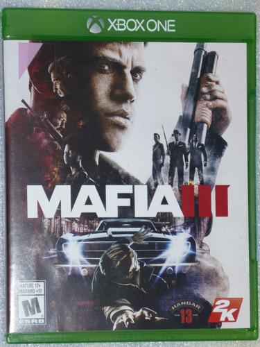 mafia 3 xbox one original usado español como nuevo