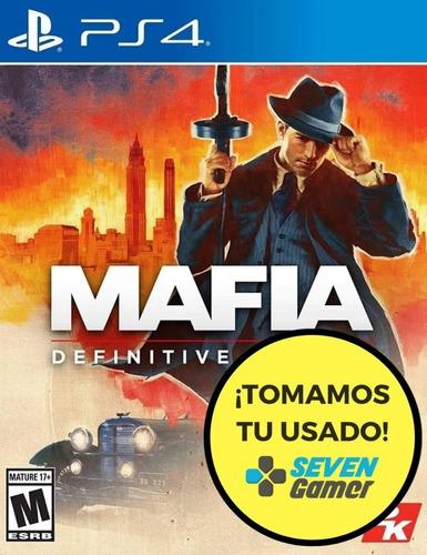 mafia definitive edition ps4 juego nuevo playstation 4