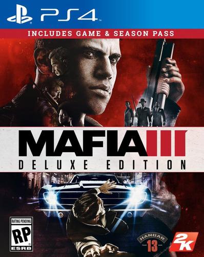 mafia iii 3 deluxe edition ps4 | fast2fun