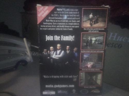 mafia juego de pc + midnight club ii editor's choice sellado