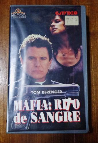 mafia rito de sangre - tom berenger - vhs original.-