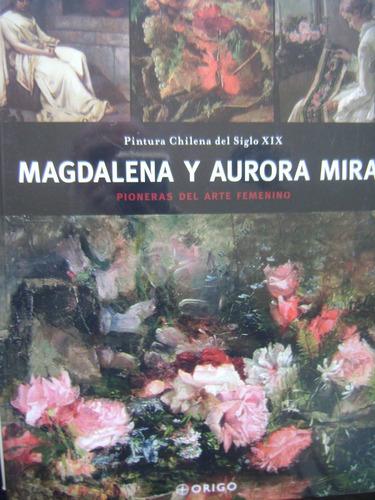 magadalena y aurora mira / pintura chilena del siglo xix