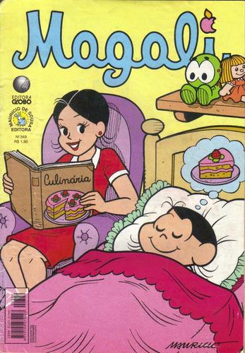 magali n° 349 ed. globo