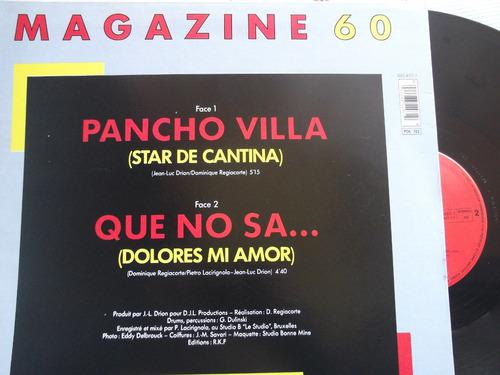 magazine 60 - pancho villa - que no sa.. francia