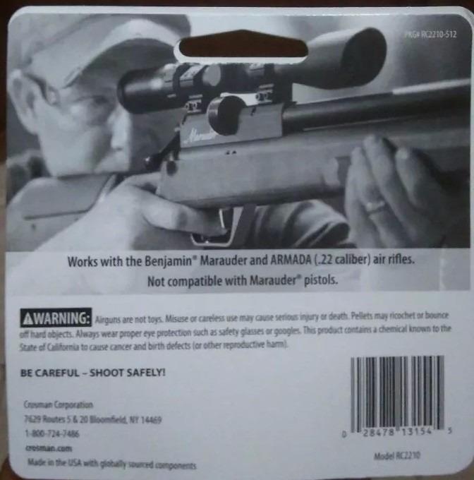Magazine Carregador Benjamin Marauder  22 Modelo Rc2210 5,5