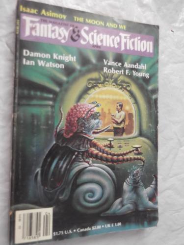 magazine fantasy & science fiction abril 1986 en ingles vvaa