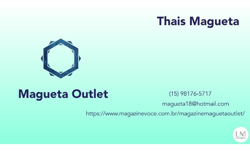 magazine magueta outlet