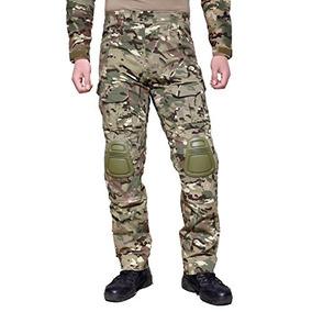 1e82b326a6 Magcomsen Pantalones Militares Para Hombres Bdu Con Rodilla