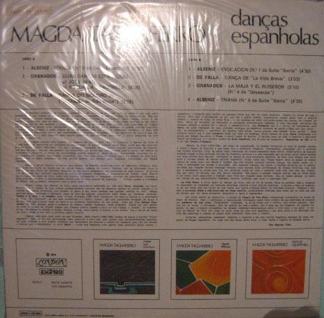 magda tagliaferro - danças espanholas - 1974
