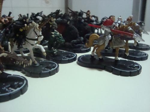 mage knight lote  de cavaleiros 03 peças 60,00