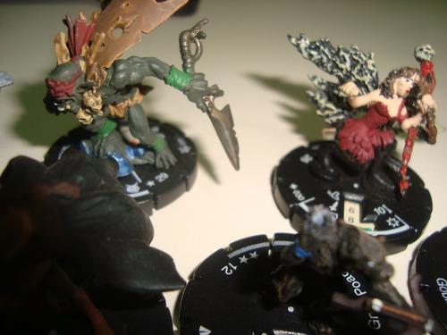 mage knight rpg miniatura marvel lote de miniaturas 05 peças