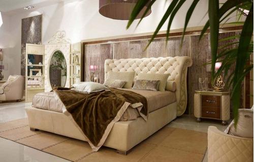 magestuoso juego de habitacion tapizado
