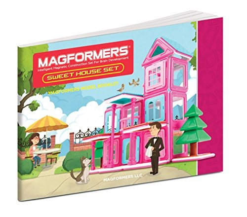 magformers sweet house set (64 piezas)