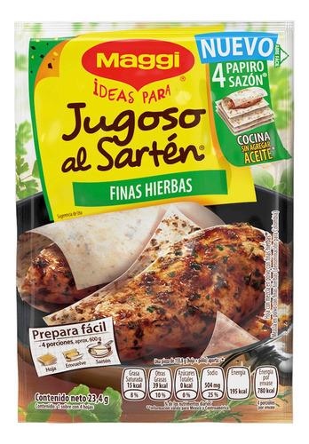 maggi-jugoso al sarten 23.2gr hierbas(1 pieza)