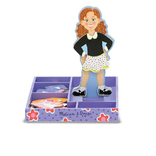 maggie leigh magnetic wooden dress up doll