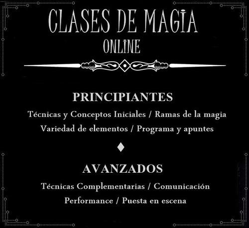 magia clases online - curso de magia