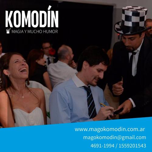 magia y mucho humor - mago comico - magos - shows familiares