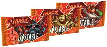 magic booster x 15 cartas - unstable - wizards wizards