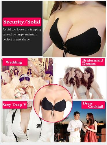 magic bra, bra push up, silicon strapless, invisible