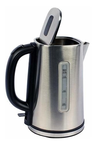magic chef mcsk17ss hervidor de agua eléctrico, acero i