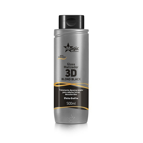magic color blond black  efeito grafite (500ml)