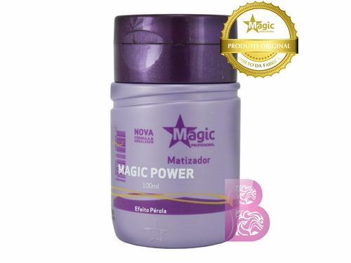 magic color matizador magic power efeito pérola 100ml