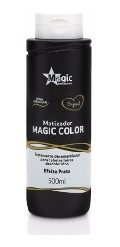 magic color platinum blond matizador desamarelador 500ml