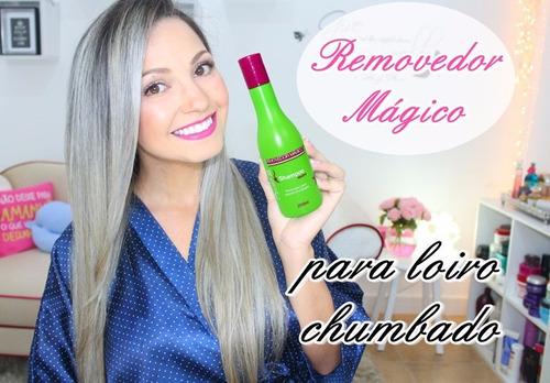 magic color shampoo neutro removedor mágico 250ml