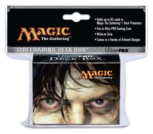 magic deck box - diabolic tutor - lacrado ultra pro