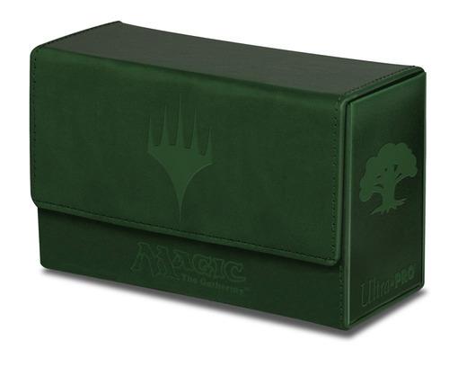 magic deck double mana flip green deck box ultra pro ultra p