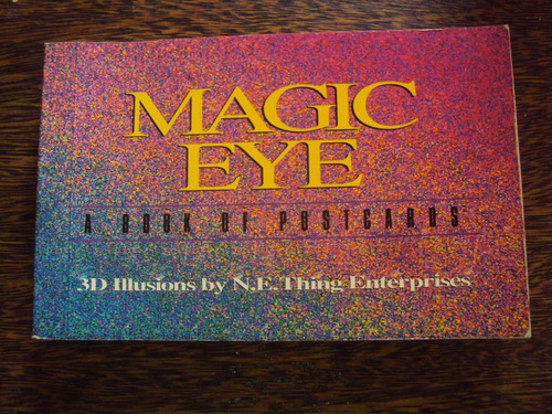 magic eye a book of postcards 3d arte postales magicas