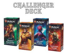 Magic Kit 4 Challenger Deck 2019 Standard United Aggro Arcan