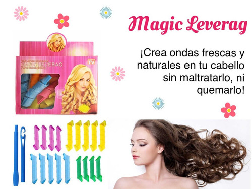 magic leverag rulos rizos naturales sin dañar tu cabello