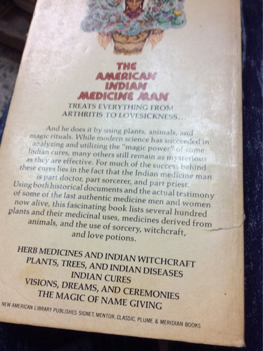 mágic medicines of the indians - c.a weslager