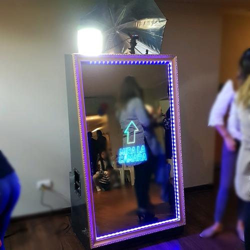 magic mirror booth espejo magico arriendo 3 horas. oferta.