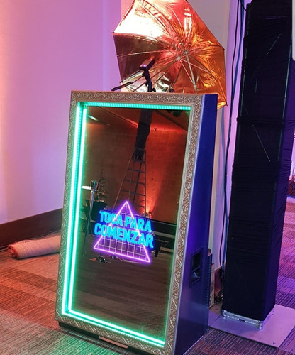 magic mirror ,espejo magico (sin camara ni impresora) oferta