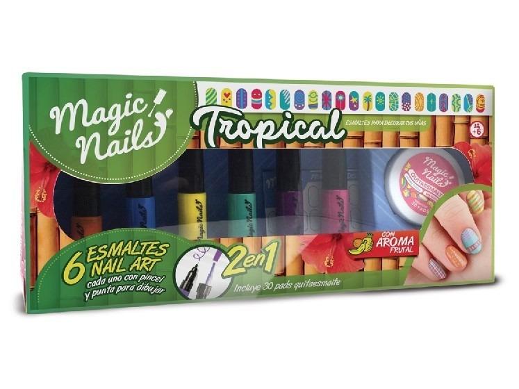 Magic Nails Diseño Uñas Esmaltes Aroma De Fruta Belgrano - $ 289,00 ...
