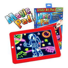 Magic Pad Neon - Pizarra Magica De Neon