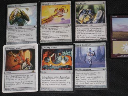 magic the gathering / 7 tarjetas coleccionables