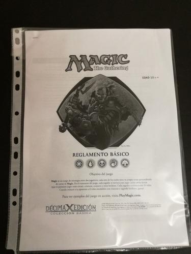 magic the gathering  kit de inicio para 2 jugadores + reglas