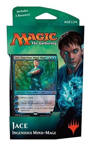 magic the gathering: mazo de planeswalker ixalan - jace - i