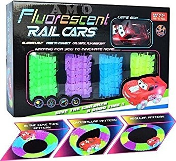 Tracks Juguetes Pista Circuito Fluorescente Magic Luminoso 0mwNv8n