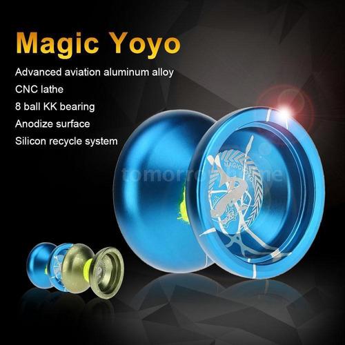magic yoyo  aluminio aleación metal yoyo no duncan no lili