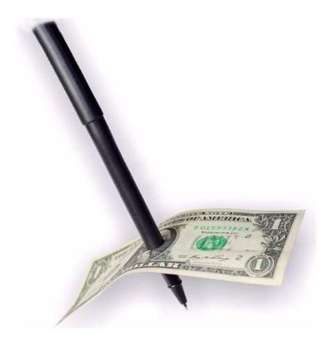 magica caneta fura notas  examinável- efeito incrível barato